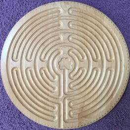 maple Chartres labyrinth
