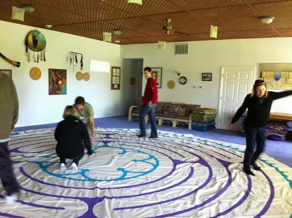 Canvas Labyrinth